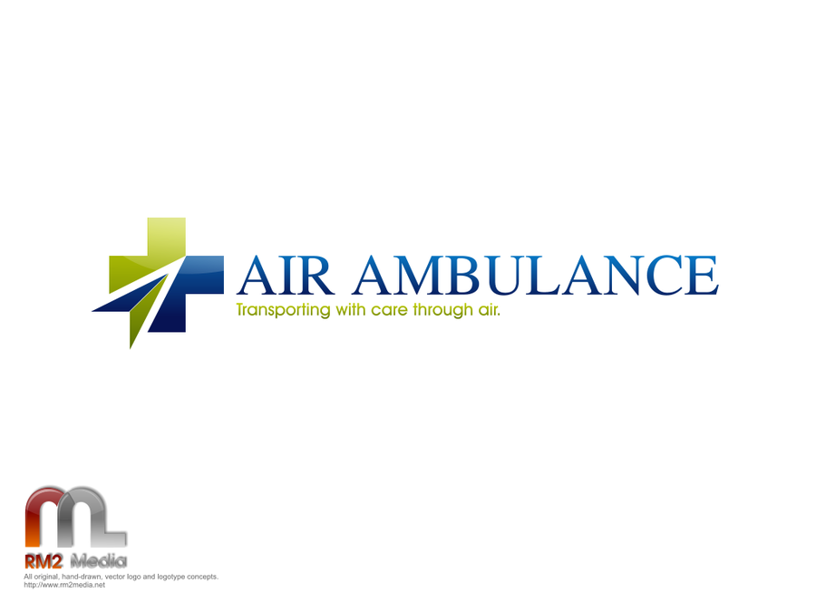 Logo design for an international air ambulance company for International design company