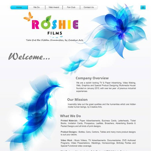 Runner-up design by Roshiefilms