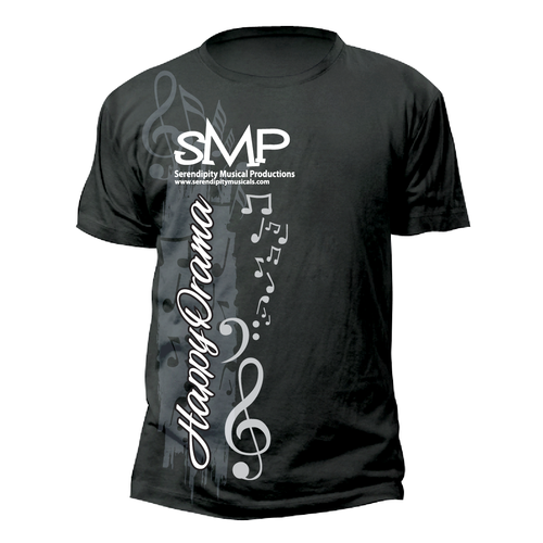 T Shirt Design For Serendipity Musical Productions T