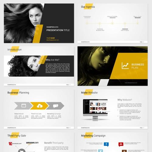 Shampoo Queen Business Plan Powerpoint Template Contest 99designs