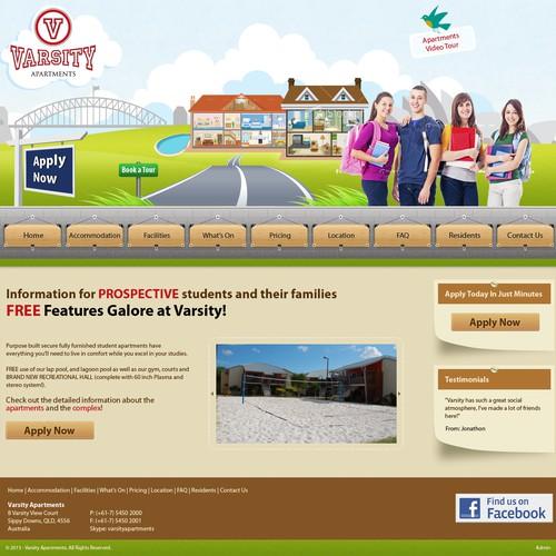 Runner-up design by Web Gateway
