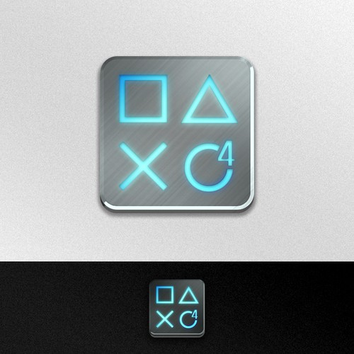 Community Contest: Create the logo for the PlayStation 4. Winner receives $500! Design by eLaeS
