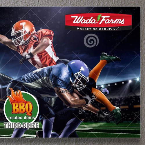 Design Promo Flyer that incorporates a football kickoff theme Diseño de AlexCZeh