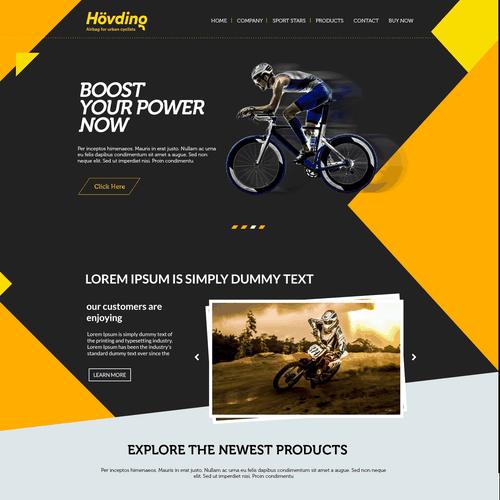 Diseño finalista de web designer 101