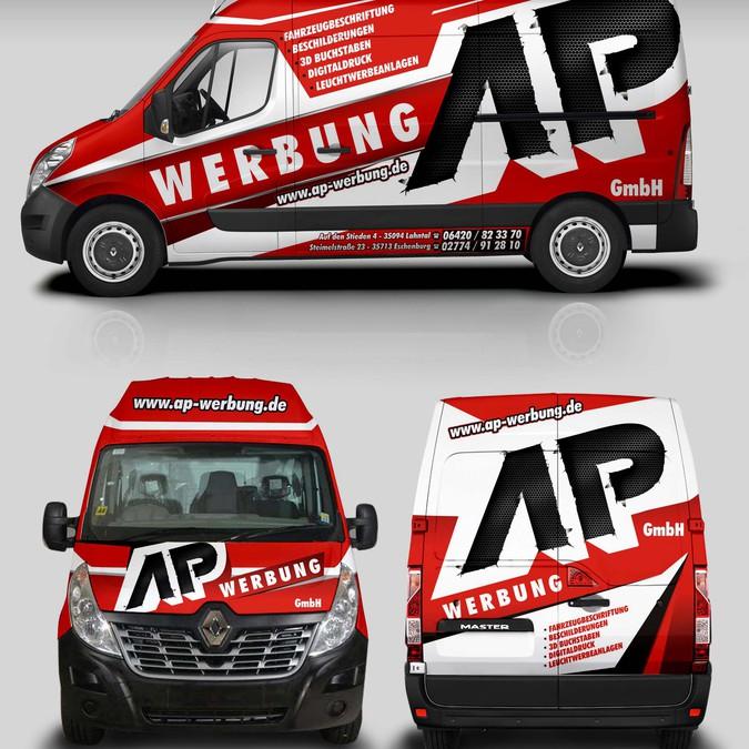 Winning design by StudioGrafico™Wraps
