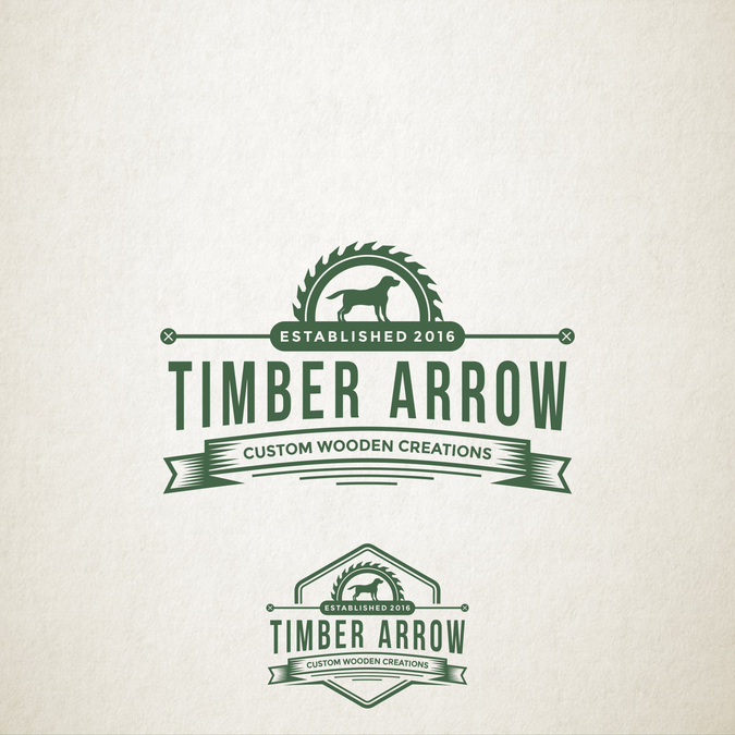 Old Fashioned Refined Logo For A Woodworking Business Logo