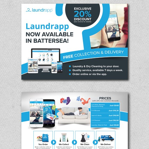 Laundry Dry Cleaning Flyer Design