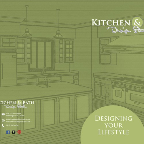 Presentation Folder For Kitchen Bath Design Studio Other Business Or Advertising Contest