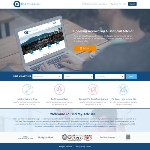 Design finalista por Smartwebtech