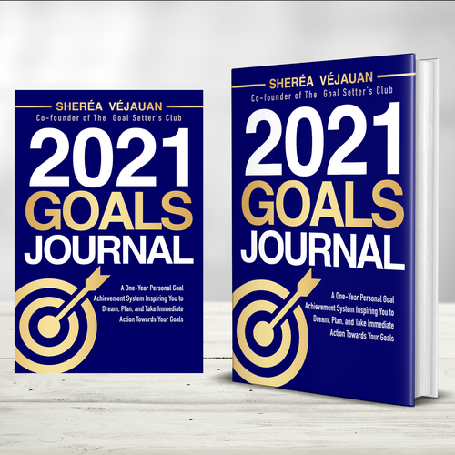 Design 10-Year Anniversary Version of My Goals Journal Design by praveen007
