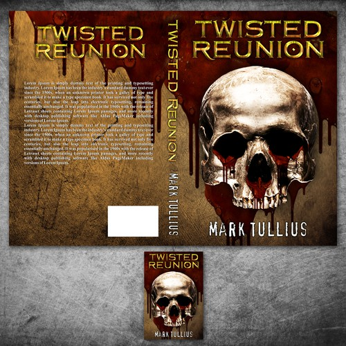 Book Cover Making Competition : Create a killer book cover for horror author