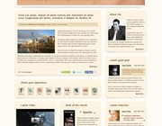 Custom wordpress theme design by Fenrir Media