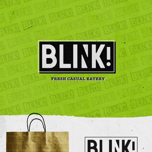 Create logo for new fresh casual restaurant:  BLINK! Design von nevergohungry