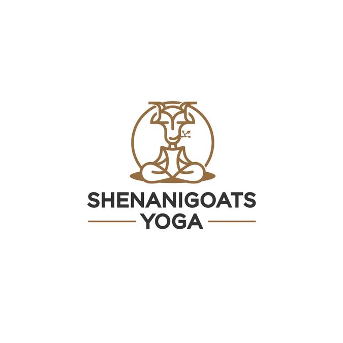 Goat yoga logo logo design contest for Home decor logo 99 design contest