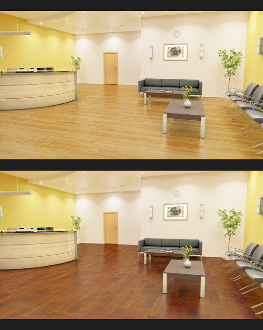 Home and Office 3d Realistic Flooring Room View Maker, Photoshop
