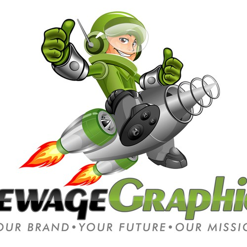 Runner-up design by CreAtive Mastah