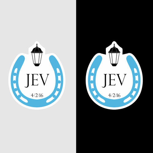 Horseshoe Logo With Jev Initials For Elegant Batmitzvah Party Logo Design Contest 99designs