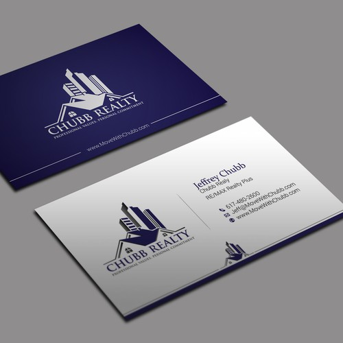 Real estate agent business card business card contest runner up design by kaylee ck colourmoves