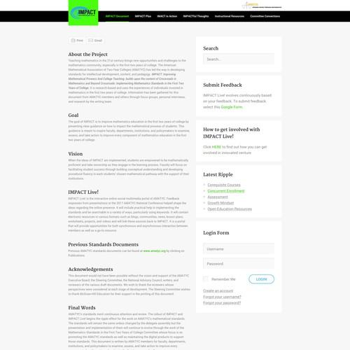 Runner-up design by UI/UX Designer