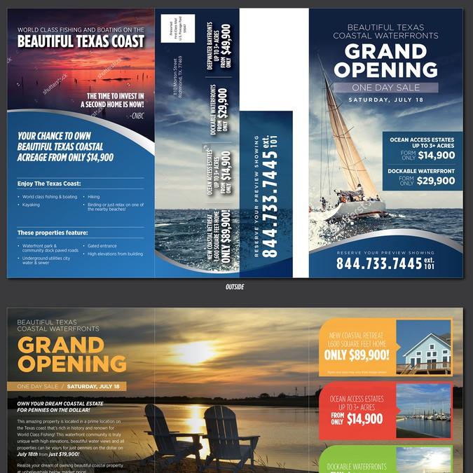 Coastal Texas - Land Sale Flyer | Postcard, flyer or print