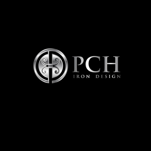 PCH Iron Design logo for custom highend metal work based in