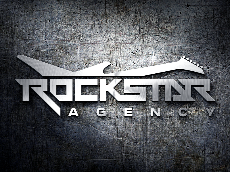 create a rockstar logo for our agency rockstar wanted logo