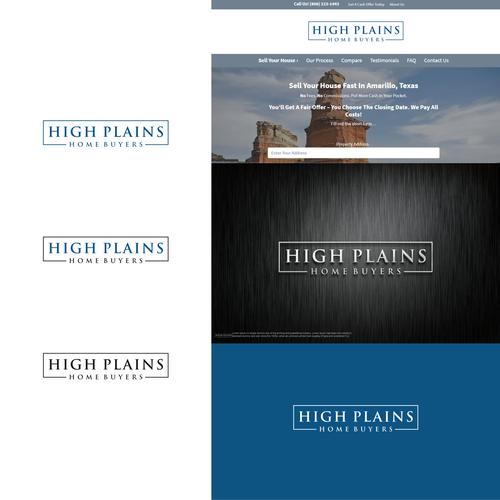 High Plains Home Buyers Logo Logo Design Contest 99designs