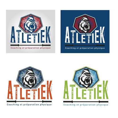 Cr er un logo puissant pour atletiek logo design contest for Desherbant puissant pour allees