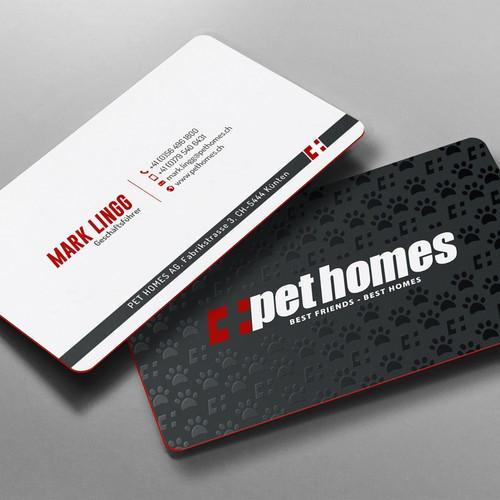 Stunning Biz Card For Best Pet Homes
