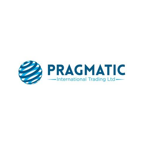 Professional logo for international trading company ...