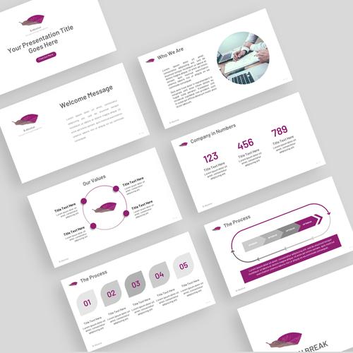 Design D Une Presentation Powerpoitn Pour Maximiser L Impact Visuel Powerpoint Template Contest 99designs