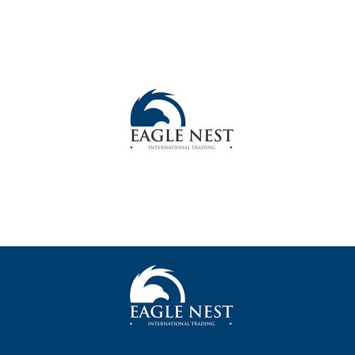 A logo for Eagle Nest International Trading | Logo design contest