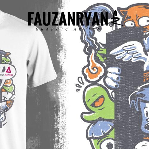 Runner-up design by fauzanryan
