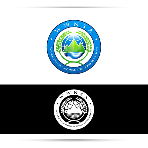 World Wide Natural Stone Association (WWNSA) needs a new logo Design by Aql1@99 ™