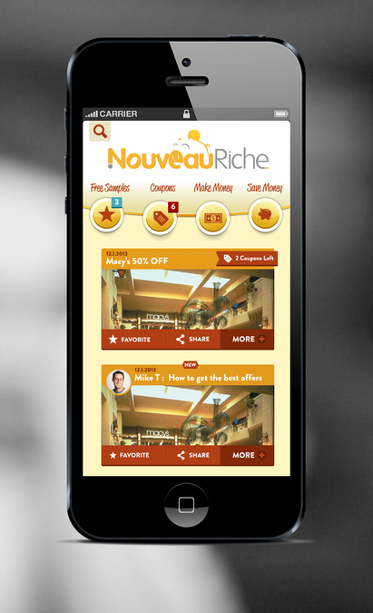 Mobile Money Making/saving Website (nouveauriche com
