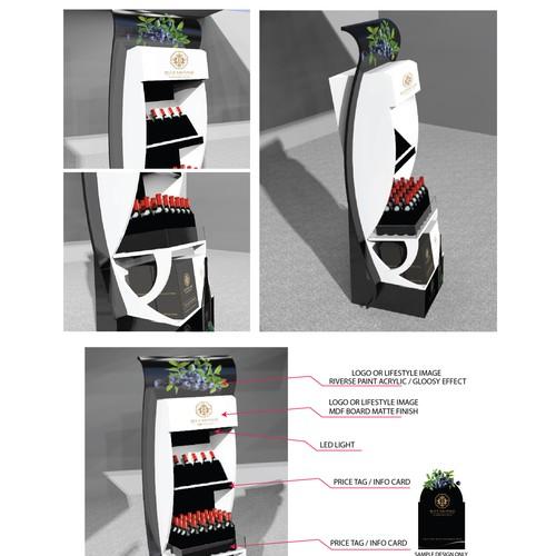 Runner-up design by 3DxDesigner