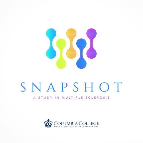 Columbia University Multiple Sclerosis Snapshot Study | Logo design