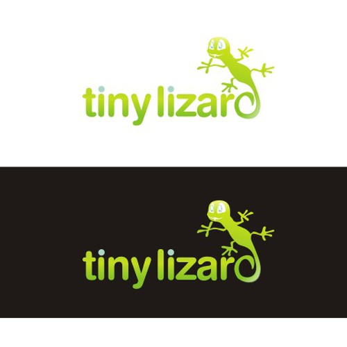 Tiny Lizard Logo Design by Fizzy