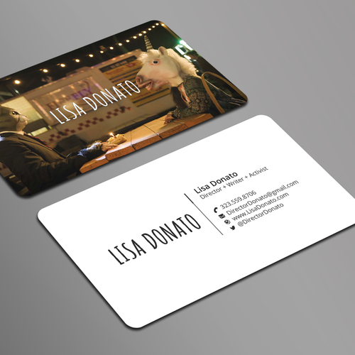 Filmmaker business cards business card contest runner up design by finx colourmoves
