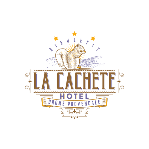 Cr ation logo pour un hotel creation of a logo for an for Hotel design en france
