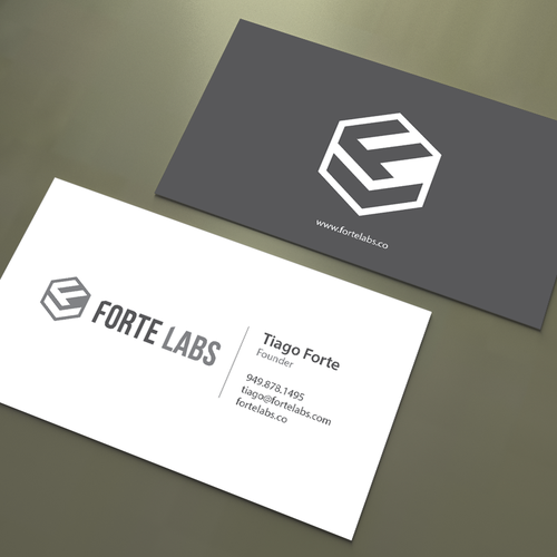 Clever business card combining productivity design thinking forte entries from this contest colourmoves
