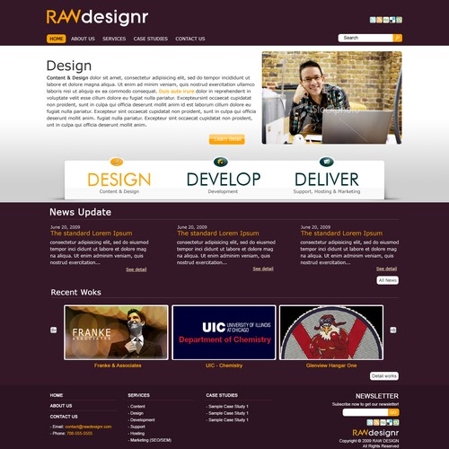 Runner-up design by agsdesign