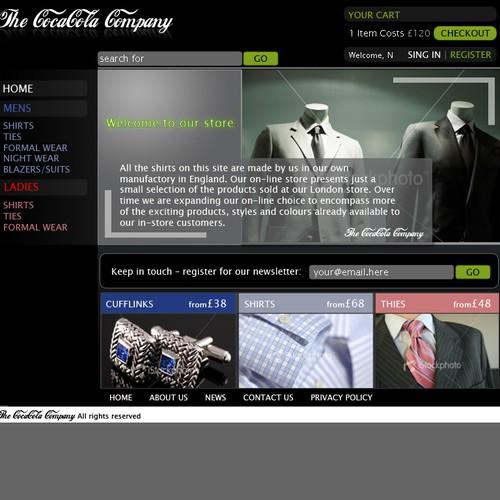 Diseño finalista de BoraDesign.net