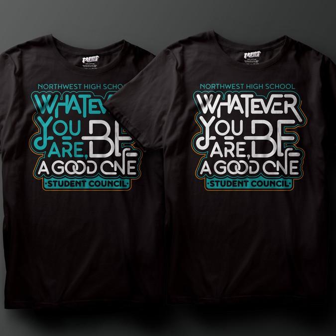 Student Council T Shirt For Concurso