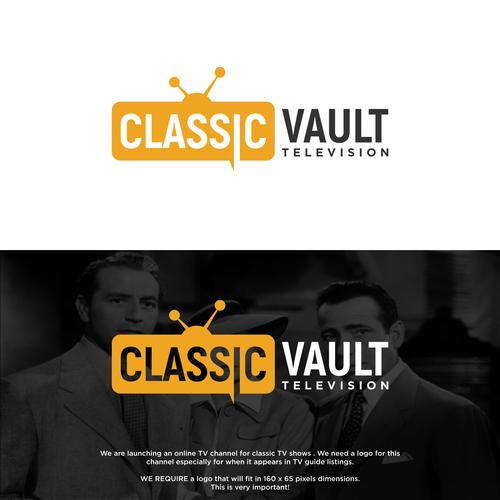 Design a logo for a Classic TV channel | Logo & social media