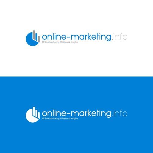 Logo Design for a German online marketing blog   Logo ...