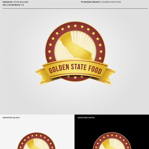 Runner-up design by KevinOrin