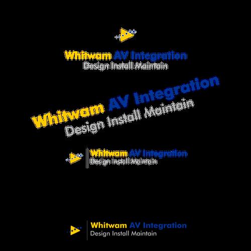 AV Integration Logo Design | concurso Logotipos on