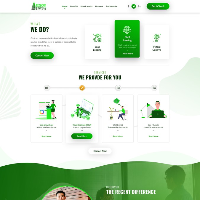 Winning design by Eclick Softwares