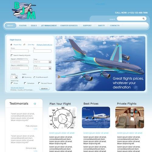 Runner-up design by webpablo